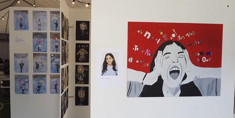 Exposición arte St George